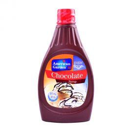American Garden Choco Syrup Sugar free 18.5oz