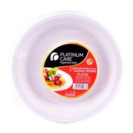 Platinum Care 7 Classic Round Plate 20's