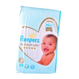 Pampers Premium Care Size 3 (48 pieces)