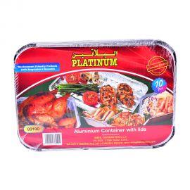 Platinum Aluminum Container 10s