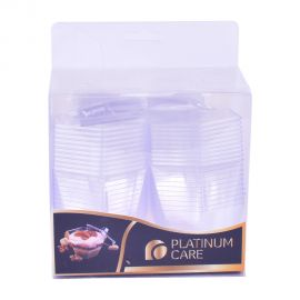 Platinum Care Dessert Cup,Lid & Spoon 20's