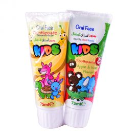 Oral Face Kids Toothpaste Bubble Gum&strawberry