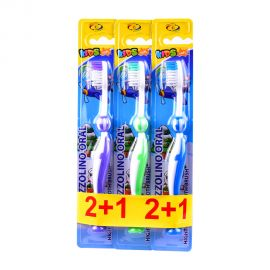 Oral Face Kids ToothBrush 2+1 Free