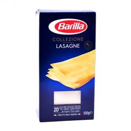 Barilla La Collezione Smlina Lasagne 500gm