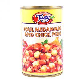 Tasty Foul Meda&chick Peas 450gm