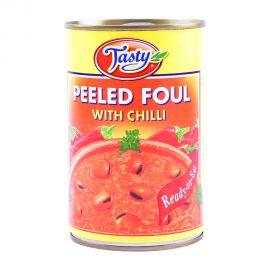 Tasty Foul Peeled W/chilli 450gm
