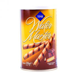 Wafer Master Chocolate Tin 120gm