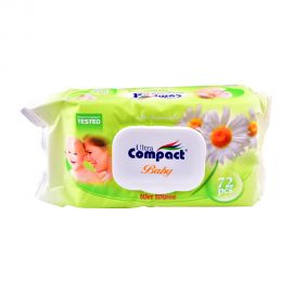 Ultra compact Baby Wet Wipes 72p (chamomile)