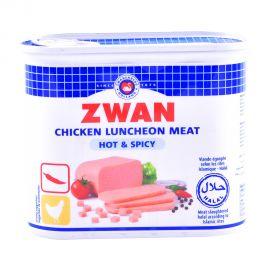 Zwan Chicken Luncheon meat Hot & Spicy 340gm