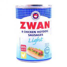 Zwan Chicken Hotdog Light 184gm