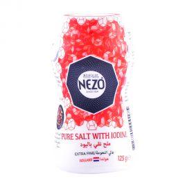 Nezo Iodized Salt Shaker Red 125gm
