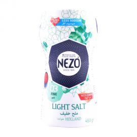 Nezo Salt Low Sodium With Iodine 450gm