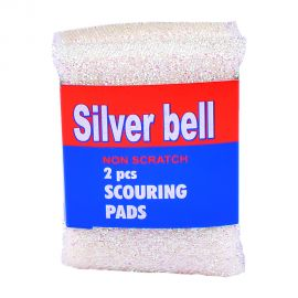 Silver Bell 2pc Scouring Pad