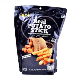 Noi Real potato sticks Black Pepper 100g