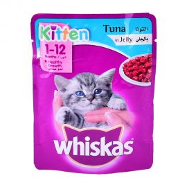 Whiskas Junior Tuna 85g Pouch