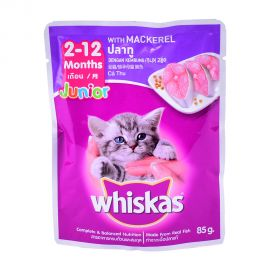 Whiskas Kitten Mackerel 85gm