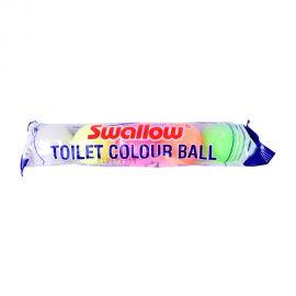 Swallow Toilet Coloured Ball