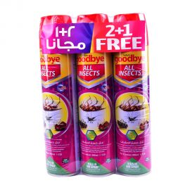 Good Bye All insects instant Spray 400ml(2+1)