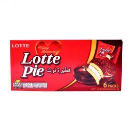 Lotte Premium Quality Chocolate Pie 6x28gm