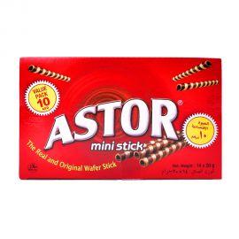 Astor Mini Choco Stick 14x20gm