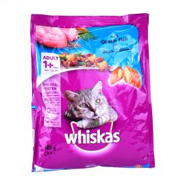 Whiskas Ocean Fish 480gm