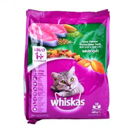 Whiskas Tuna Pouch 480gm