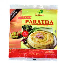 Kawan Roti Puff Paratha Onion 5p 400gm