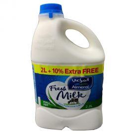 ALMARAI MILK FF 2LTR+10% EXTRA FREE