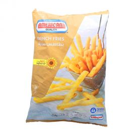 Americana Fried French Fries, 2.5 Kg