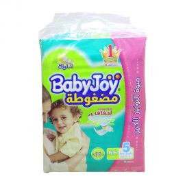 Baby Joy Diapers Size 5 JUNIOR 66's