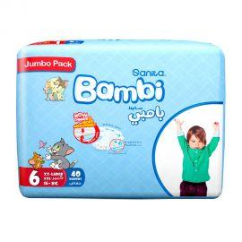 BAMBI BABY DIAPER XXL JUMBO 40'S