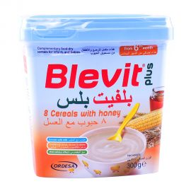 Blevit Plus 8 Cereals with Honey 300gm