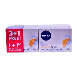Nivea Soap Honey&oil 100g (3+1F)