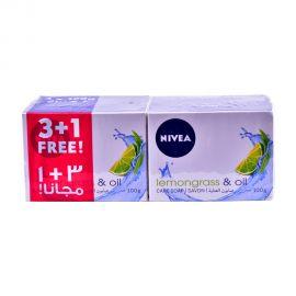 Nivea Soap Lemongrass&oil 100g (3+1F)