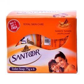 Santoor Soap 75gm sandal & turmeric