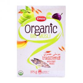 Emco Bio-Organic Musli with Fruits 375gm