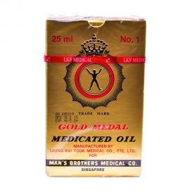 Gold Medal Medicated Oil 25ml