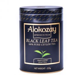 Alokozay Tea black leaf tea Loose Tin 225gm
