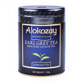 Alokozay Tea Earl Grey Tin 225gm