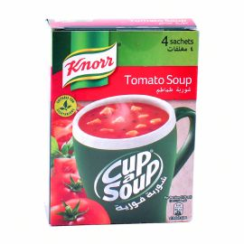 Knorr Cup Soup Cream Tomato 4x22gm