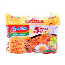 Indomie Spicy Curry Fried Instant Noodles Mi Goreng 90g x 5pcs