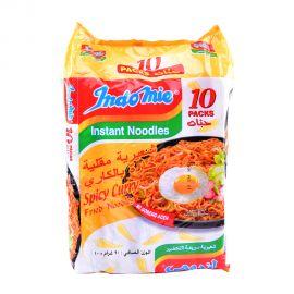 Indomie Spicy Curry Fried Instant Noodles Mi Goreng 90g x 10pcs