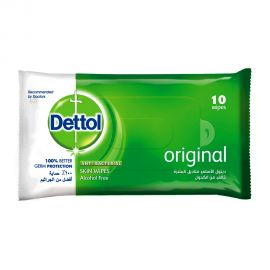 DETTOL WIPES ORG 10'S