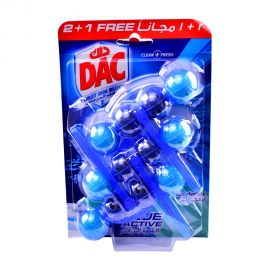 Dac Toilet Cleaner Blue 51gm 2+1 Free