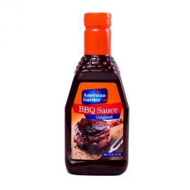 American Garden barbeque Sauce 18oz Original