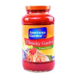 American Garden Pasta Sauce Chunky Garden 24oz