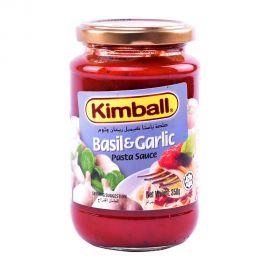 Kimball Spaghetti Sauce Garlic&basil 350gm
