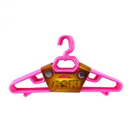 Flora Aski Plastic Hanger 6pc Set
