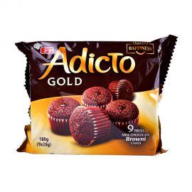 Eti Adicto Gold Browni Mini Cake 180gm