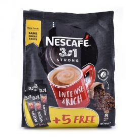 Nescafe 3in1 Intense & rich 30x20gm+5 Stick Free